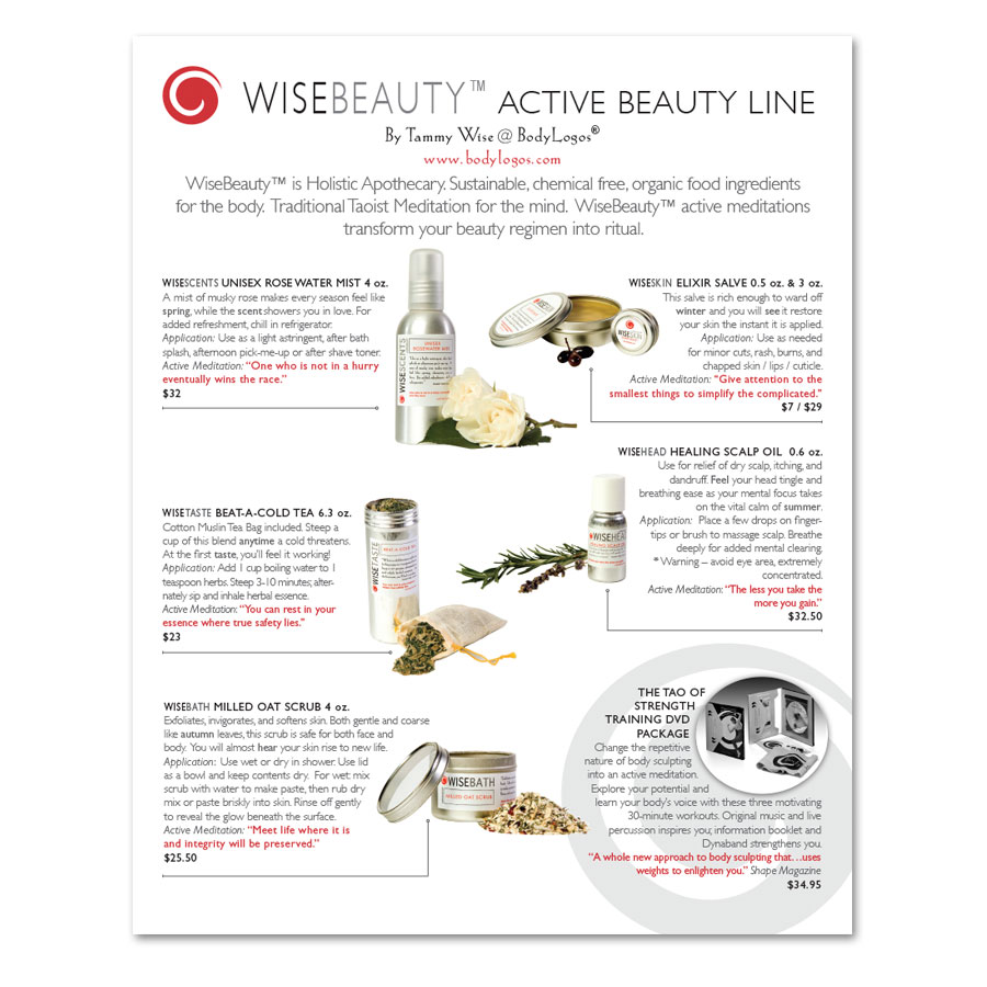 Wise Beauty Product Sheet